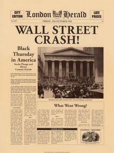 """Amb el """"Crack"""" de Wall Street, les relacions públiques es converteixen en un necessitat."""
