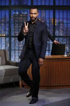11 photos of Omari Hardwick looking sexy in these dapper suits. Omari Hardwick Power, Maisie Richardson Sellers, Dapper Suits, Mens Suits, Taylor Kitsch, Ryan Guzman, Black Actors, Karl Urban, Avan Jogia