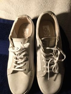 0e71048769 Vans OTW TB4R low snakers leather amp sueder upper white off-white new mens