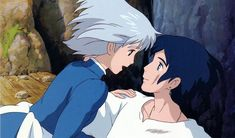 I know it's just a cartoon, but I love Sophie and Howl from Howl's Moving Castle!
