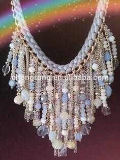 mezcla de cadenas y perlas collares - Buscar con Google