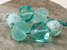 Lampwork Glass Beads Jewels Of The Queen Of Jadis by shineon2