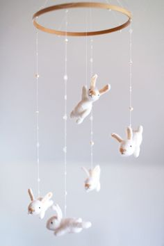 Hello, sweet friends. These bunnies will become your little one's best pals.