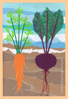 Classe D'art, Art Projects, Projects To Try, Kindergarten, Art Classroom, Flower Crafts, Art School, Garden Art, Origami