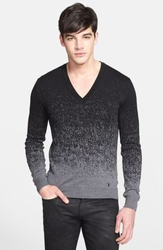 Versace Collection Ombré Wool Sweater available at #Nordstrom