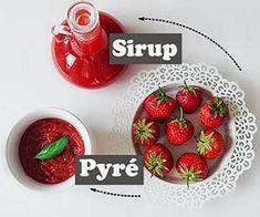 Jahodové pyré a sirup Raspberry, Strawberry, Fruit, Food, Essen, Strawberry Fruit, Meals, Raspberries, Strawberries