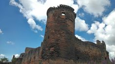 Bothwell Castle  - - - - - -  #Scotland #clouds #sky #landscape #castle