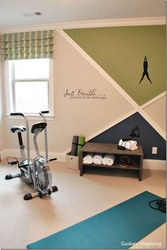 Holiday Parade of Homes Nashville Area - Southern Hospitality - drees wor. - Holiday Parade of Homes Nashville Area – Southern Hospitality – drees workout – - Workout Room Decor, Workout Room Home, Gym Room At Home, Home Gym Decor, Workout Rooms, House Workout, Exercise Rooms, Home Gym Garage, Basement Gym