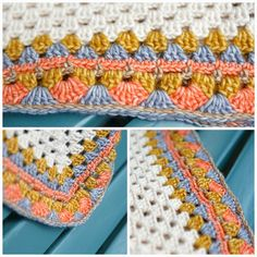 Crochetpattern poncho border | Haakpatroon ponchorand Jip by Jan