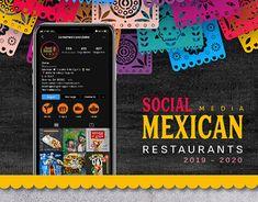 Mexican Restaurants, Mexican Designs, Graphic Design Branding, Photography Branding, Social Media Design, Adobe Photoshop, New Work, Adobe Illustrator, Behance