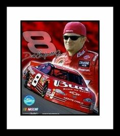 Dale Earnhardt Jr. - Signature Series Collage 2 - Framed 8x10 Photograph by NASCAR. $37.67. This Officially Licensed 8x10 Photo has been double matted with acid free mats - white outside, black inside. Item is then framed in a high quality black wood moulding. Photo is protected by high strength premium clear glass. Approximate finished framed size is 12 1/4 inches by 15 1/2 inches. Each frame is inspected individually for defects then bubble wrapped for protection.