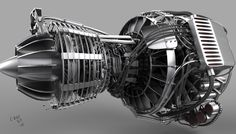 Turbofan Jet Engine