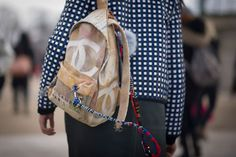 La mochila de Chanel...