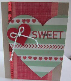 Krafting with Karen: Alternate Valentine Cards January 2016 Paper Pumpkin Kit