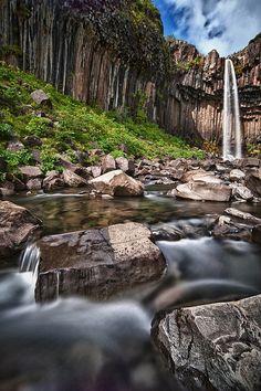 Svartifoss - Skaftafell National Park, Iceland