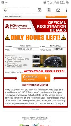 Thomas Wayne, Instant Win Sweepstakes, Winner Announcement, Publisher Clearing House, Ford Edge, Elvis Presley, New Mexico, Life
