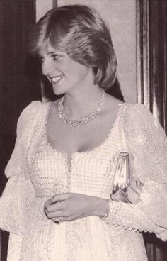 """March Princess Diana was pictured attending the charity premiere of """"The Little Foxes"""" starring Elizabeth Taylor, at the Victoria Palace Theatre in London. Princess Diana Family, Royal Princess, Princess Charlotte, Princess Of Wales, Prinz Philip, Prinz William, Lady Diana Spencer, Elizabeth Taylor, Queen Elizabeth"""