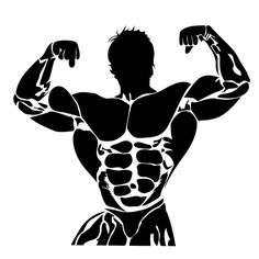 bodybuilding, vector, icon by Sunshine on Bodybuilding Logo, Bodybuilding Workouts, Fitness Design, Fitness Logo, Gym Icon, Fitness Backgrounds, Human Icon, Gym Interior, Gym Logo