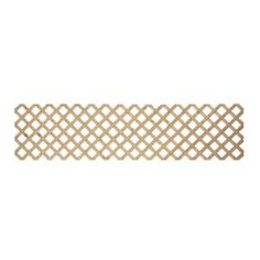 Full 1/2 in. x 2 ft. x 8 ft. Pressure Treated Lattice-127740 at The Home Depot