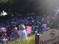 Dogwood Dell Ampitheatre, Richmond, VA -- I've watched many shows, concerts and fireworks displays here!