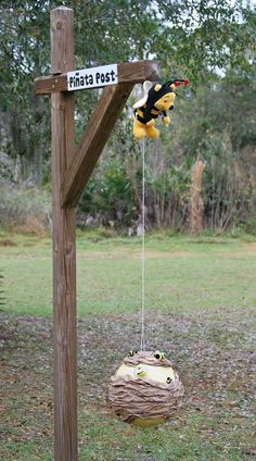 Winnie the Pooh in the Hundred Acre Woods Birthday Party Ideas | Photo 20 of 29 | Catch My Party