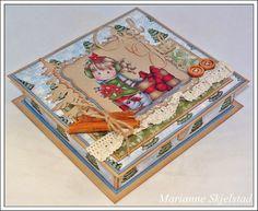 Mariannes papirverden.: esker ol