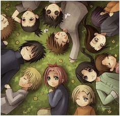 Fanfic / Fanfiction de Naruto - Será que é possível encontrar um amor verdadeiro? - Capítulo 2 - Amigos