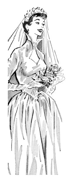 1957 Illustration By Hilary Bradshaw Br Llop Illustration Och Inspiration