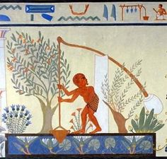Agriculture Life in Ancient Egypt as Described by Herodotus, Optimistically! Ancient Egyptian Food, Life In Ancient Egypt, Ancient History, European History, Ancient Aliens, Ancient Greece, American History, Egyptian Party, Art Antique
