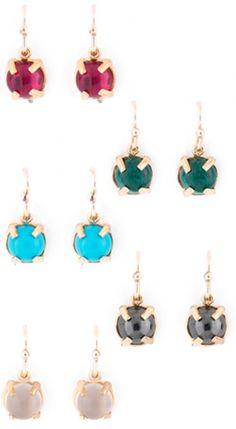 Handmade earrings from Hazel Smyth Designer Jewelry