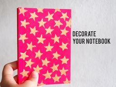 How to Decorate Your Notebook Cover