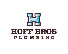 using pipes to form the H is a good idea, because people normally associate pipes with plumbing, and i like the way it looks.