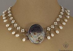 Cameo collar N1299 by Fleur-de-Irk.deviantart.com on @deviantART