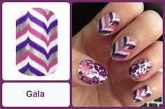 GALA Jamberry Nail Wrap #galajn