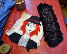 Factory Cathy: Stage initiation à la laine feutrée d'Emma et Léan...