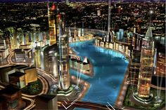 The Amazing Places: The phenomenal Dubailand theme park has it all
