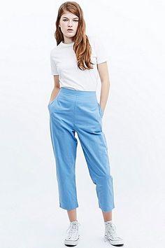 Urban Renewal Vintage Remnants Jack Trousers in Blue