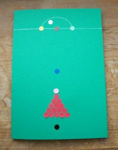 A snooker inspired card for a snooker nut!