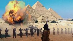 ¡Las pirámides de Egipto amenazadas por el Isis!