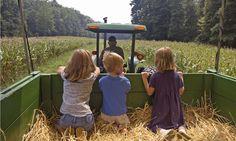 Farm camps -logeren bij de boer door heel Nederland.