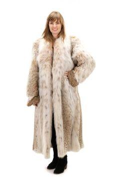 Birger Christensen Full Length Lynx Fur Coat : Lot 295. Estimated $2,000-$4,000