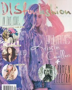 Kristin Cavallari graces the cover of Disfunkshion Magazine. It hit newsstands Monday, April 15 (U.S.) and April 21 (International: Canada, UK, Australia, NZ, Brazil, Singapore) You can get your copy at Barnes & Noble (Nationwide), selected Walmart stores and news stands.