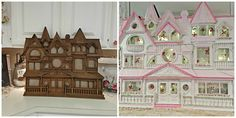 Penny's Vintage Home: Victorian Pink Lady House
