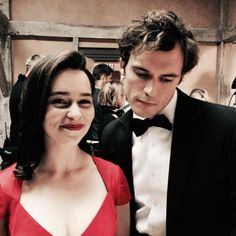 Emilia Clarke and Sam Claflin Had an Epic Prank War on the Me Before You Set - http://thisissnews.com/emilia-clarke-and-sam-claflin-had-an-epic-prank-war-on-the-me-before-you-set-2/