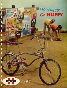 Huffy Bicycle! Rad top-tube shifter.