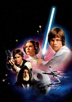 """Star Wars"" DVD art"