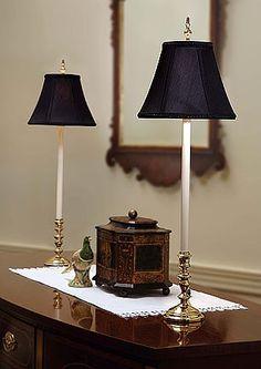 Wildwood 8895 Candlestick Buffet Lamp