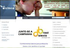 Diário: mãe de autista: Campanha Dislexia Brasil