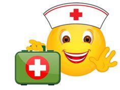 Smiley – Krankenschwester