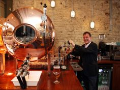 How very refreshing: Tank beer is so fresh it's like drinking straight from the brewery
